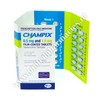 Champix (Varenicline) - 1mg/0.5mg (25 Tablets) Starter Pack