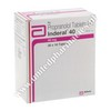 Inderal (Propranolol) - 40mg (10 Tablets)