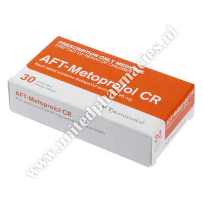AFT-Metoprolol CR (Metoprolol Succinate) - 95mg (30 Tablets)