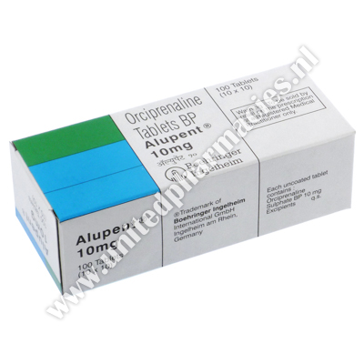 ALUPENT-10 (ORCIPRENALINE SULPHATE BP) - 10MG (10 TABS)