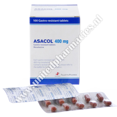 Asacol (Mesalazine) - 400mg (100 Tablets)