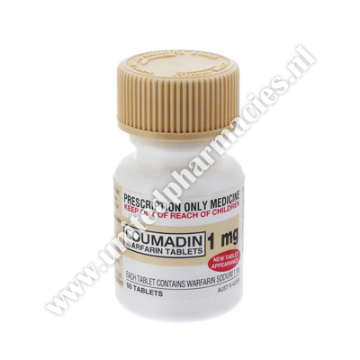 Coumadin (Warfarin Sodium) - 1mg (50 Tablets)