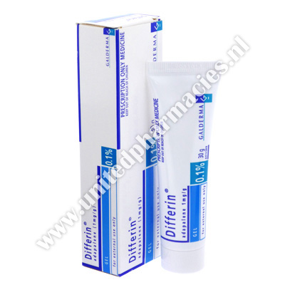 Differin Gel (Adapalene) - 0.1% (30g Tube)