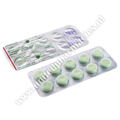 Ditide (Benzthiazide/Triamterene IP) - 25mg/50mg (10 Tablets)
