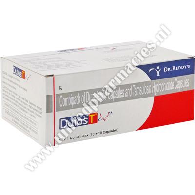 Dutas T Dutasteride Tamsulosin 0 5mg 0 4mg 20 Capsules United Pharmacies Nl