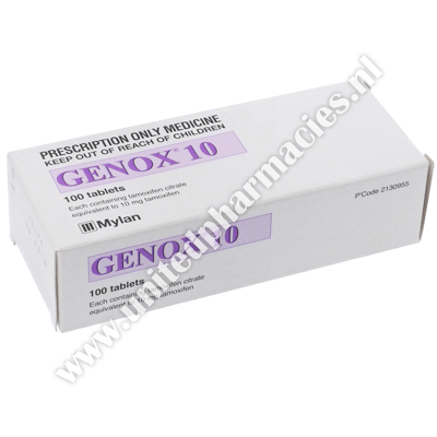 Genox (Tamoxifen Citrate) - 10mg (100 Tablets)