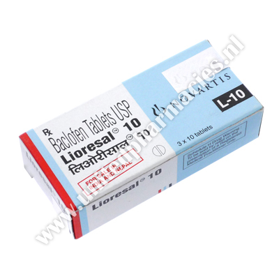 Lioresal (Baclofen) - 10mg (10 Tablets)