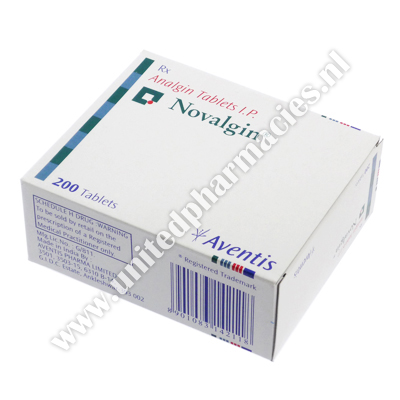 Novalgin (Analgin) - 500mg (10 Tablet)