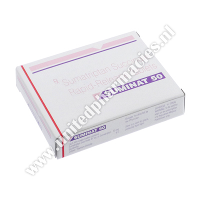 Suminat (Sumatriptan Succinate) - 50mg (1 Tablet)