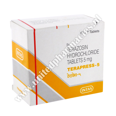 Terapress (Terazosin) - 5mg (7 Tablets)